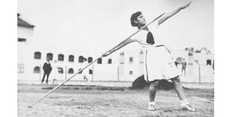 Lanzadora de jabalina, 1932