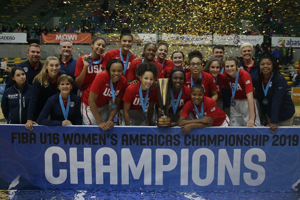 EEUU SE LLEVA EL CAMPEONATO FIBA SUB 16 FEMENINO DE LAS AMÉRICAS