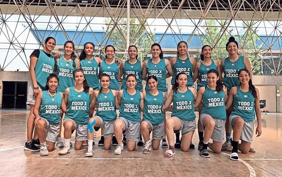 MÉXICO PRESENTE EN EL CAMPEONATO FIBA SUB 16 FEMENINO DE LAS AMÉRICAS 2019