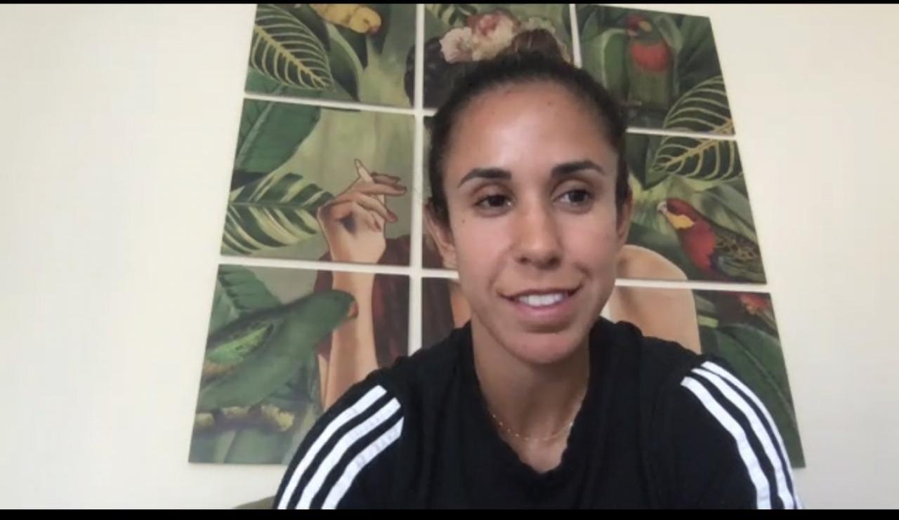 Bianca Sierra. Conferencia de prensa